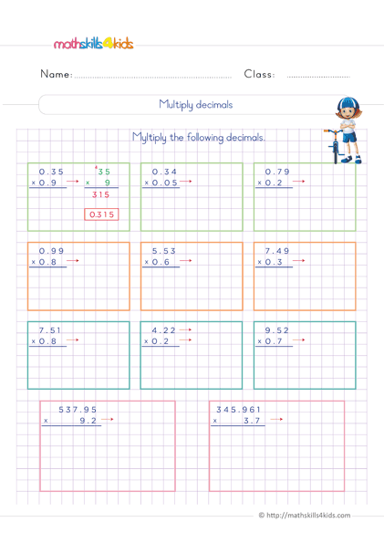Coloring Pages  Grade Math Worksheets Pdf Sixth With Answers Th