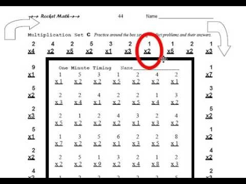 How To Practice Rocket Math