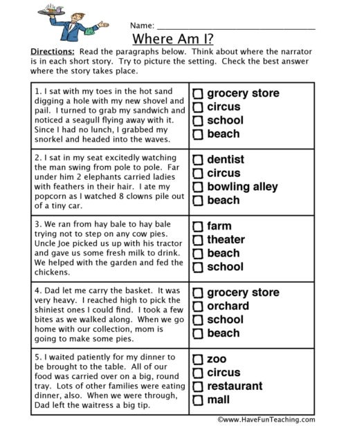 Inference Worksheets Have Fun Teaching Rd Grade Worksheet X