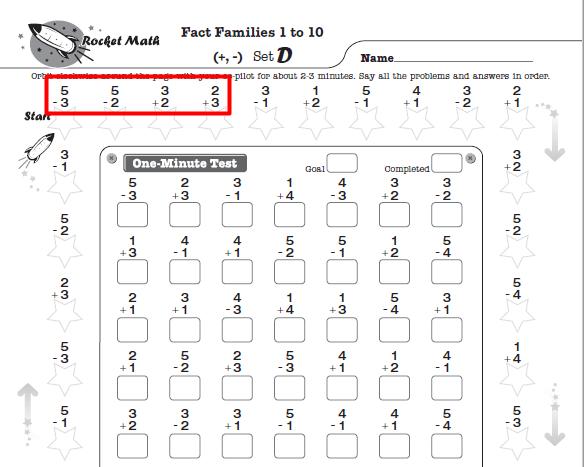 Math Worksheets For Kindergarten  St  Nd  Rd  Th Grade