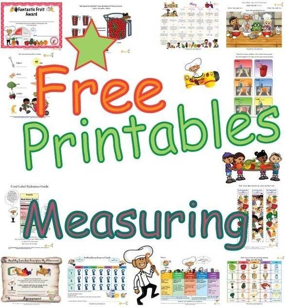 Cooking Measurement Worksheets For Kids - Worksheets Master
