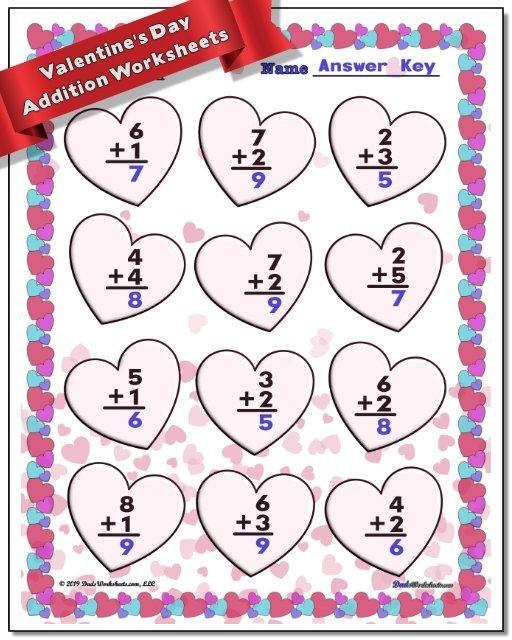 Valentine Worksheets For Second Grade - Worksheets Master