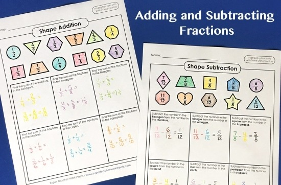 Adding Fractions   Mixed Numbers