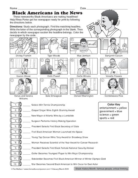 Best Mlk Images In Black History Month Activities Science