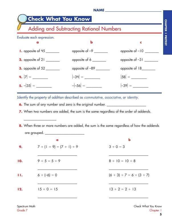Carson Dellosa Spectrum Math Workbook  Grade