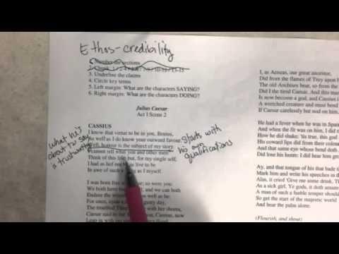 Cassius Speech Analysis Instructions