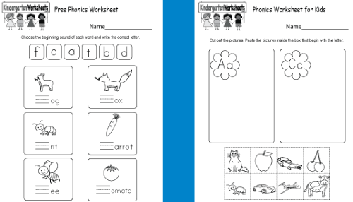 Coloring Pages  Kindergartenonics Worksheets Free Printable All