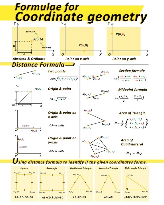 Coordinate Geometry Worksheet For Students And Children