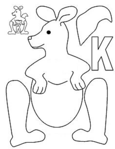 Downloadable Letter K Worksheets For Preschool Kindergarten Printable