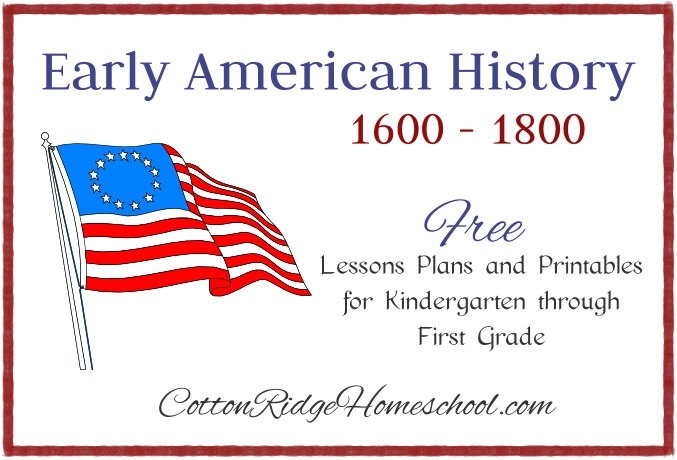 Early American History  Lesson Plans And Printables Introduction
