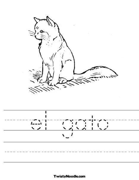 El Gato Worksheet