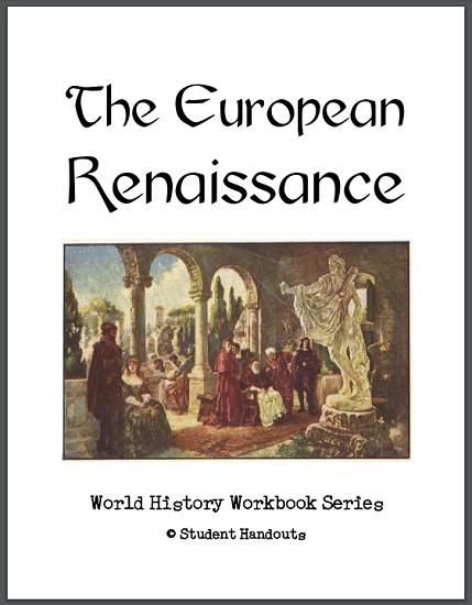 European Renaissance History Workbook