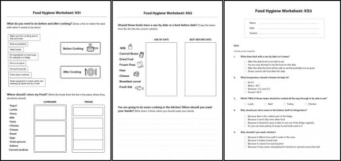 Food Hygiene Worksheets For Children In Ks  Ks   Ks