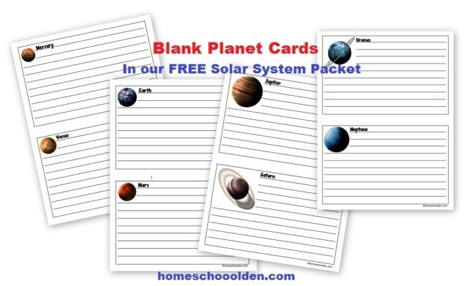 Free Planets Of The Solar System Worksheets Homeschool Th Grade