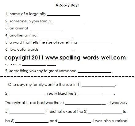 Fun Second Grade Writing Practice