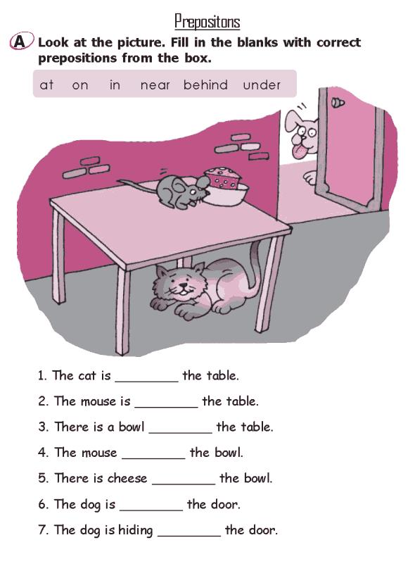 Grade  Grammar Lesson  Prepositions