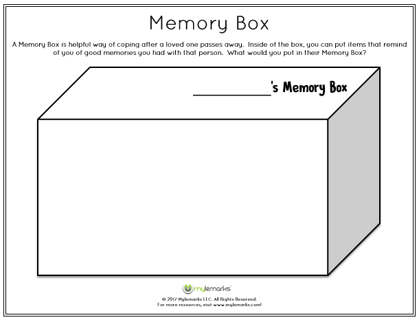 Help A Child Experiencing Grief With This Downloadable Worksheet