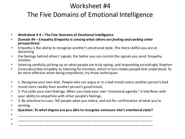 Ise Ii Task Reading Text Version Fliphtml Emotional Intelligence
