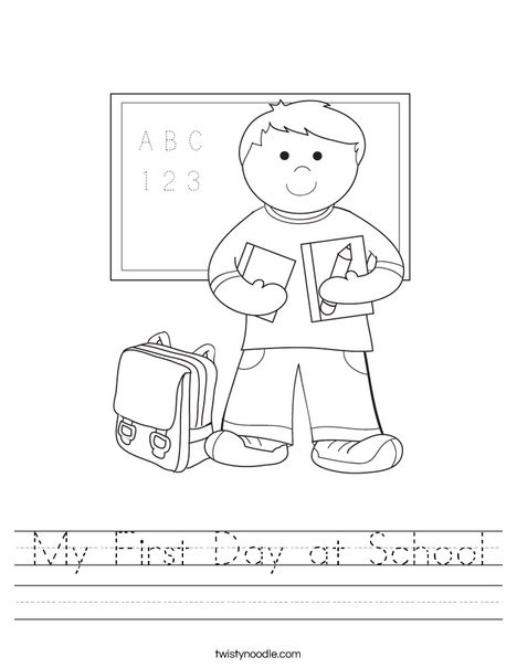 Jr High Math First Day Of School Worksheets Middle School Free