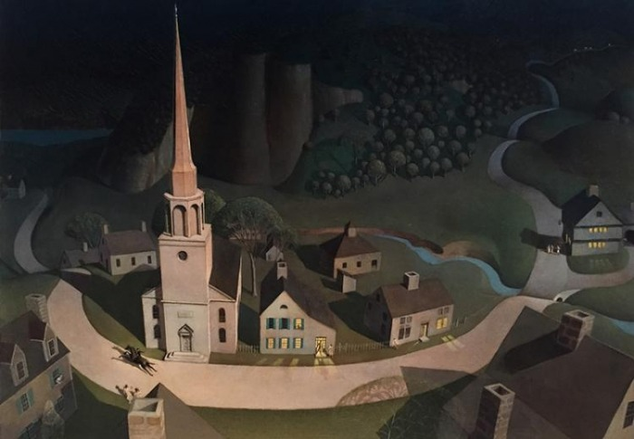 Midnight Ride Of Paul Revere Fact  Fiction  And Artistic License