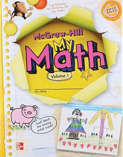 My Math Grade K  Vol  Mcgraw