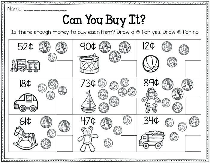 Nd Grade Money Worksheets