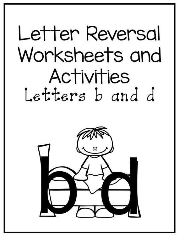 No Prep B And D Letter Reversal Worksheets And Activities