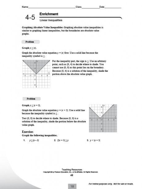 Pearson Education Math Volume Worksheets Di