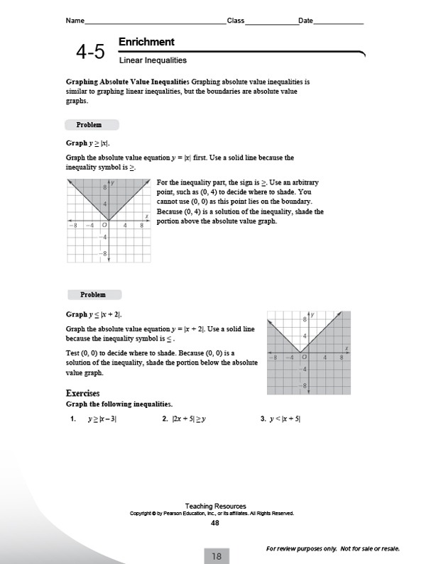 Pearson Education Math Worksheets Answers Inc Rd Grade Ihsmcc