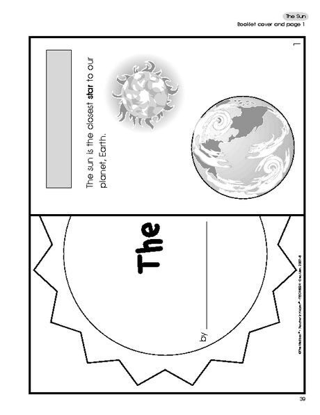 Science Booklet The Sun
