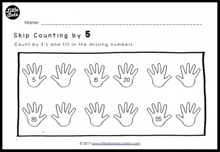 Skip Count By    And  Worksheets For Kindergarten To Grade