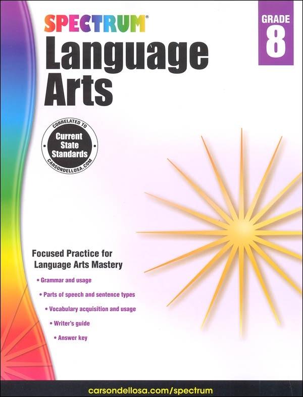 Spectrum Language Arts  Grade