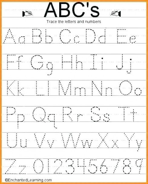Squared Paper Word Alphabet Writing Worksheets Subject Verb