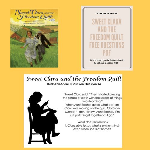 Sweet Clara And The Freedom Quilt Free Discussion Questions