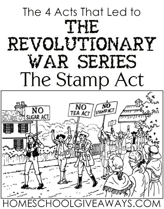 The  Acts That Led To The Revolutionary War Series The Stamp Act