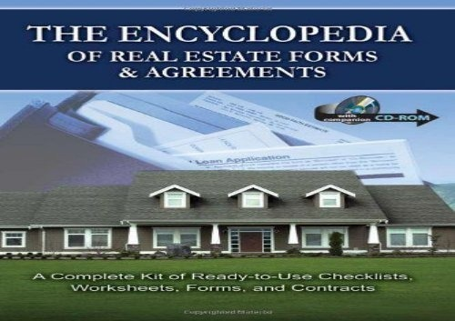 The Best Book Of The Month The Encyclopedia Of Real Estate Forms