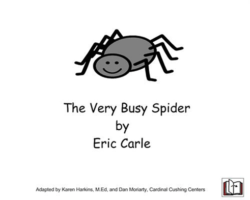The Very Busy Spider  Adapted Book And Worksheet
