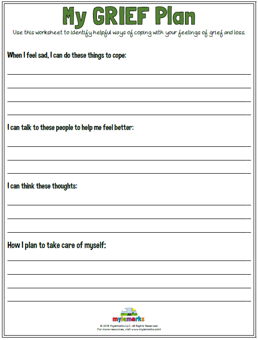 Use This Worksheet To Identify Helpful Ways Of Coping With Your