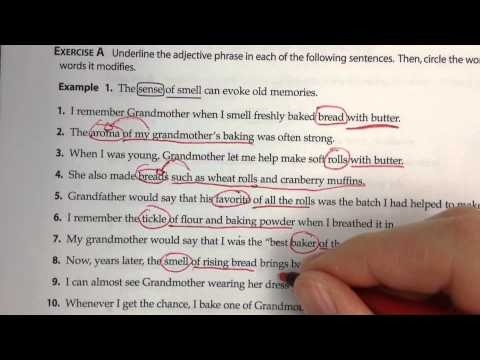 Adjective And Adverb Phrases