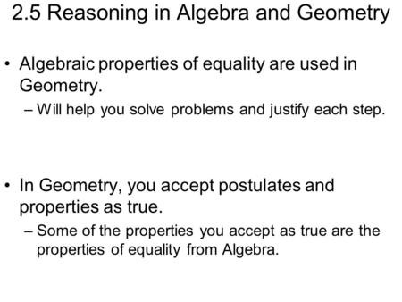 Class Notes Ch  Introduction To Logical Reasoning  Algebraic And