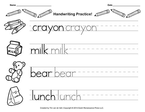 Coloring Pages  Marvelous Printable Writing Worksheets For