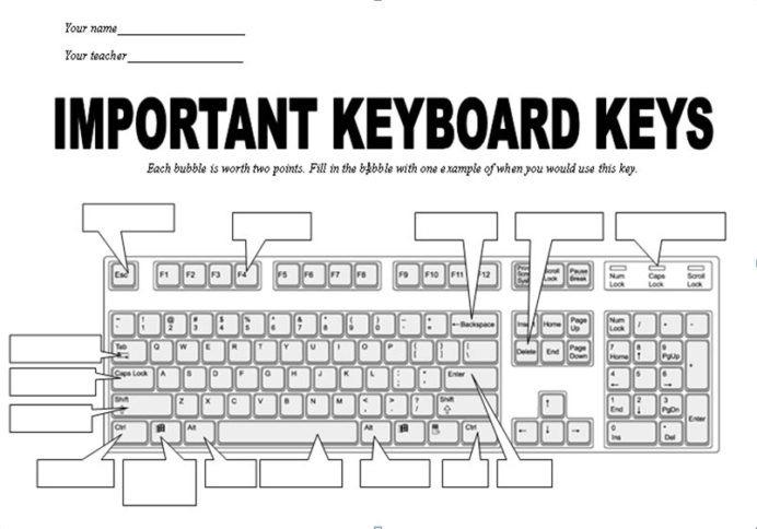 Common Math Formulas Sheet Keyboarding Drills Worksheets Free Name