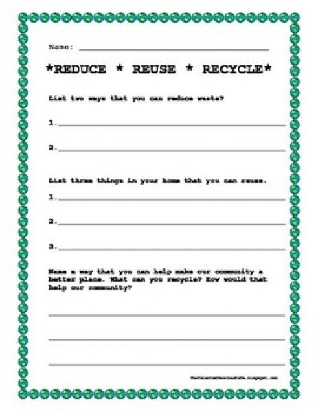 Earth Day Worksheet Nd Grade  Second Grade Earth Day Worksheets