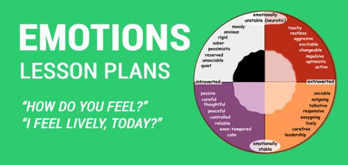 Feelings And Emotions Worksheets