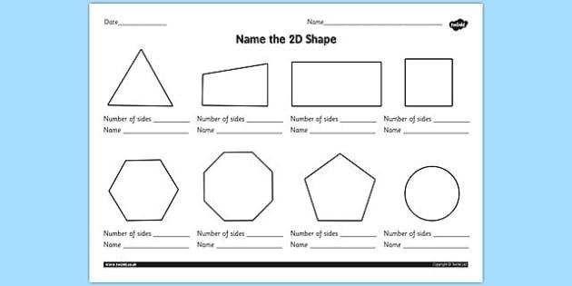 For Grade  D Shapes Worksheets Ks Esl Worksheets For Kids