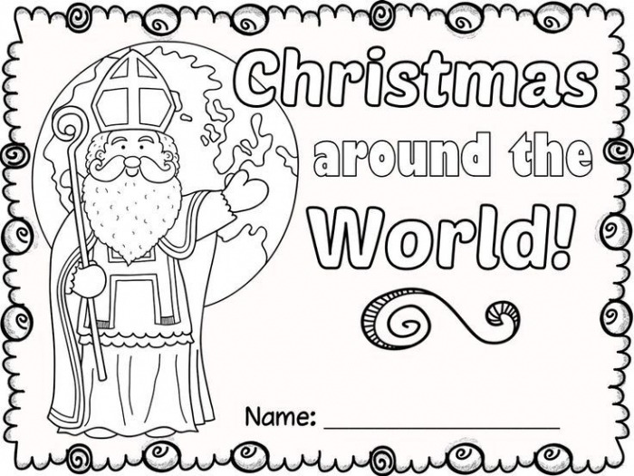 Free Christmas Around The World No Prep Activities