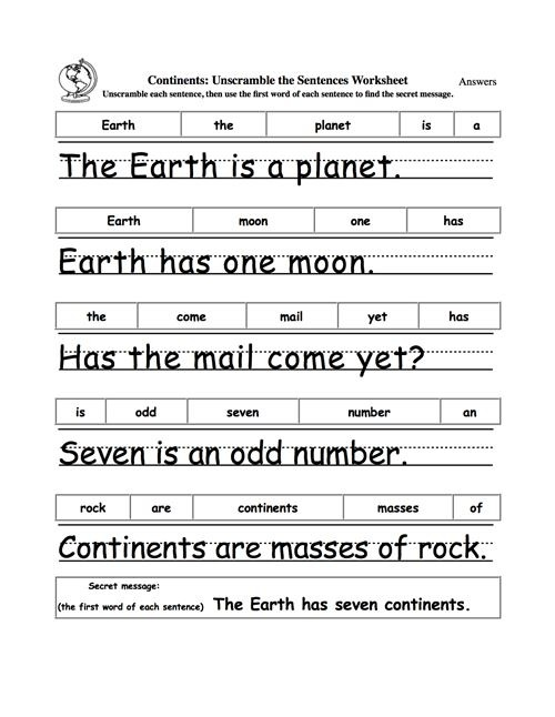 Free Earth Worksheets For Nd Grade Quotes Poems Poetry Second