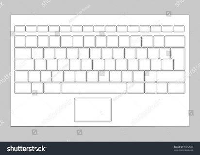 Free Printable Blank Keyboard