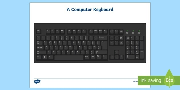 Free Printable Computer Keyboard Teacher Made