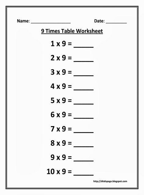 Grade One Math Word Problems Multiplication Worksheets  Times